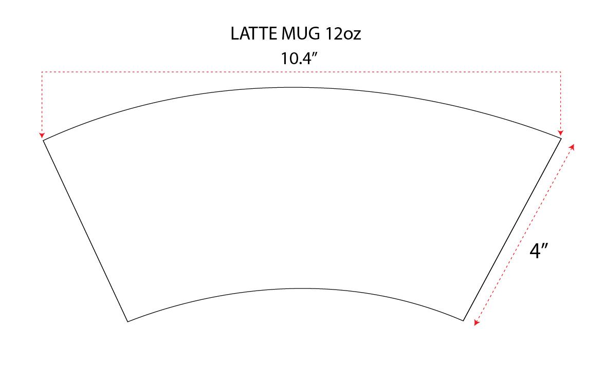 latte mug 12 oz orca. Black Bedroom Furniture Sets. Home Design Ideas